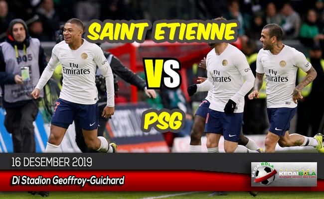 Prediksi Skor Bola Saint Etienne vs PSG 16 Desember 2019