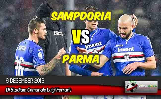 Prediksi Skor Bola Sampdoria vs Parma 9 Desember 2019