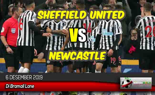 Prediksi Skor Bola Sheffield United vs Newcastle 6 Desember 2019