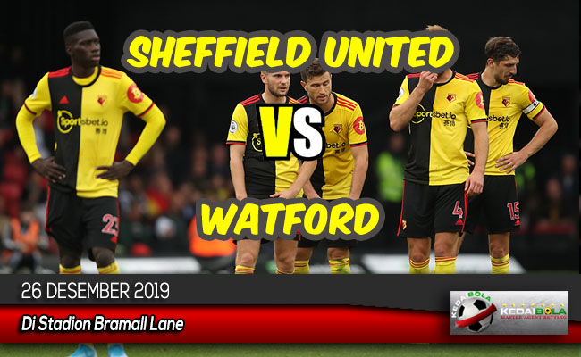 Prediksi Skor Bola Sheffield United vs Watford 26 Desember 2019