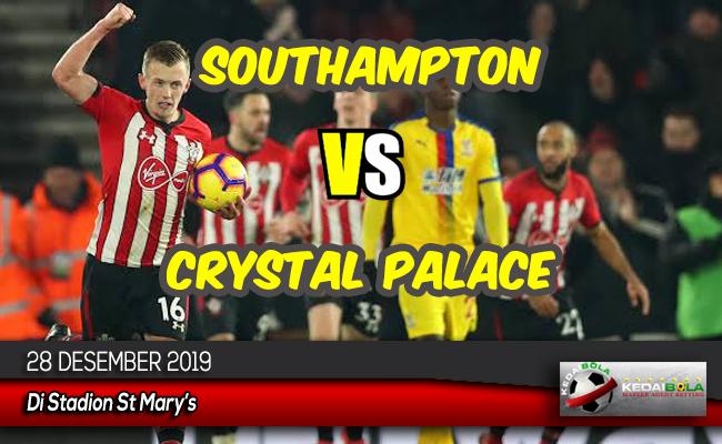 Prediksi Skor Bola Southampton vs Crystal Palace 28 Desember 2019