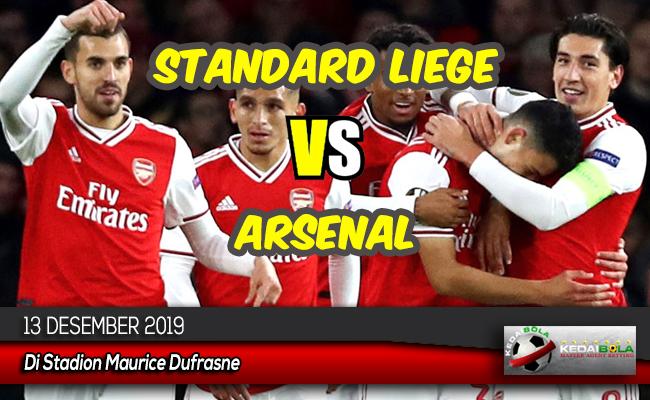 Prediksi Skor Bola Standard Liege vs Arsenal 13 Desember 2019