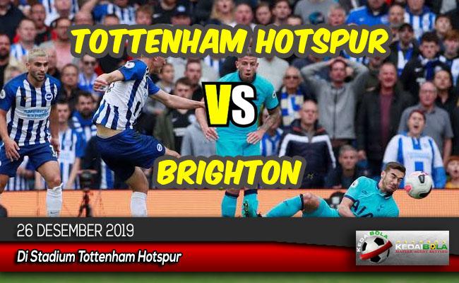 Prediksi Skor Bola Tottenham Hotspur vs Brighton 26 Desember 2019