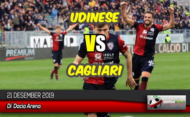 Prediksi Skor Bola Udinese vs Cagliari 21 Desember 2019