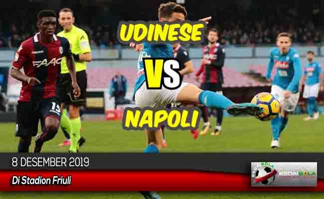 Prediksi Skor Bola Udinese vs Napoli 8 Desember 2019