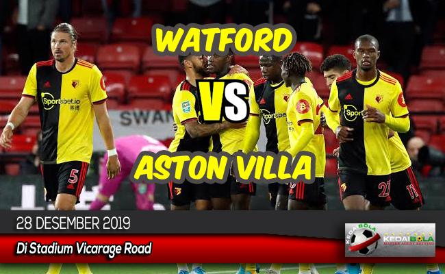 Prediksi Skor Bola Watford vs Aston Villa 28 Desember 2019