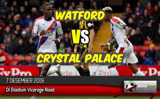 Prediksi Skor Bola Watford vs Crystal Palace 7 Desember 2019