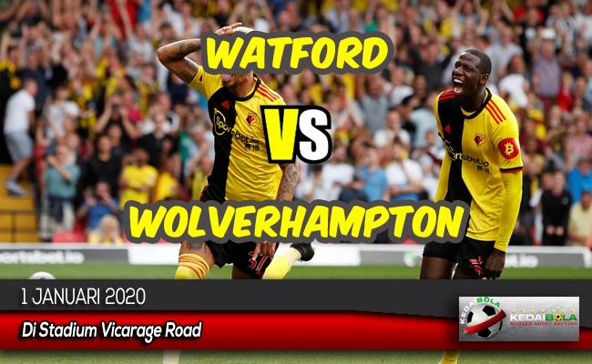 Prediksi Skor Bola Watford vs Wolverhampton 1 Januari 2020