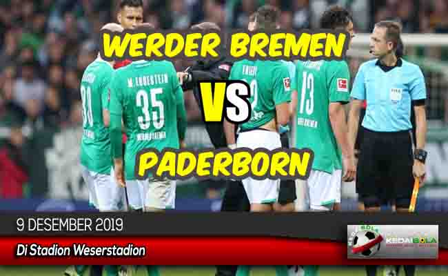 Prediksi Skor Bola Werder Bremen vs Paderborn 9 Desember 2019