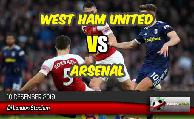 Prediksi Skor Bola West Ham United vs Arsenal 10 Desember 2019