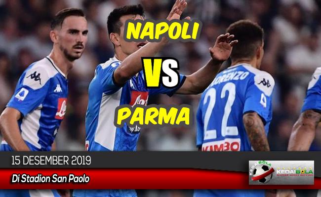 ediksi Skor Bola Napoli vs Parma 15 Desember 2019