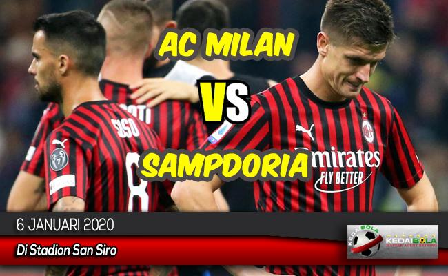 Prediksi Skor Bola AC Milan vs Sampdoria 6 Januari 2020