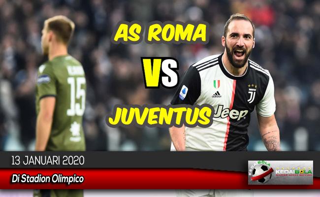 Prediksi Skor Bola AS Roma vs Juventus 13 Januari 2020