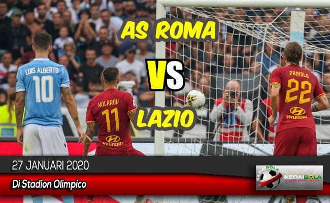 Prediksi Skor Bola AS Roma vs Lazio 27 Januari 2020