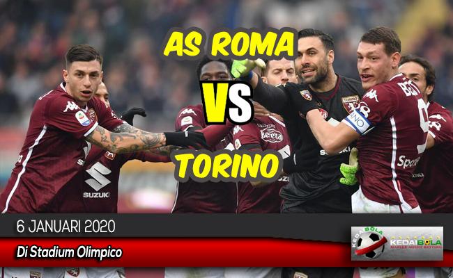 Prediksi Skor Bola AS Roma vs Torino 6 Januari 2020