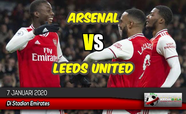 Prediksi Skor Bola Arsenal vs Leeds United 7 Januari 2020