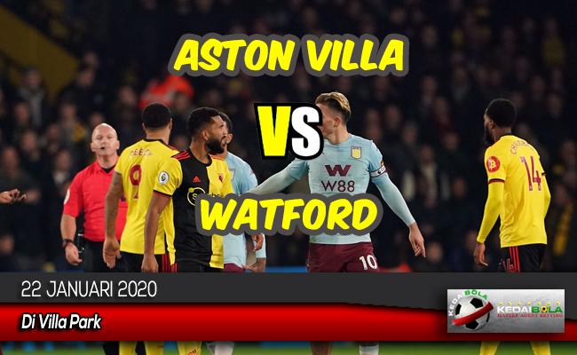 Prediksi Skor Bola Aston Villa vs Watford 22 Januari 2020