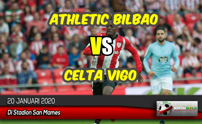 Prediksi Skor Bola Athletic Bilbao vs Celta Vigo 20 Januari 2020