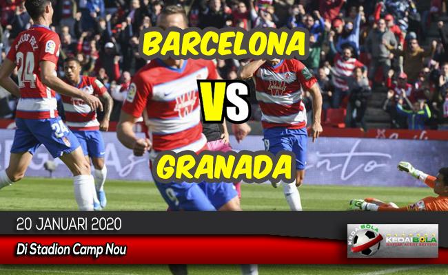 Prediksi Skor Bola Barcelona vs Granada 20 Januari 2020