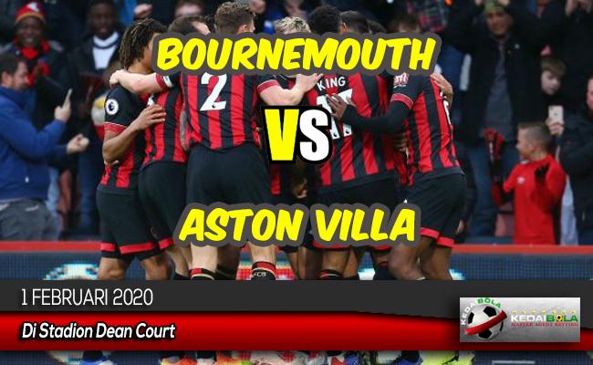 Prediksi Skor Bola Bournemouth vs Aston Villa 1 Februari 2020