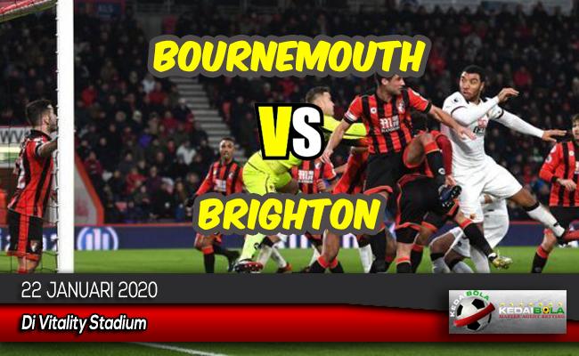 Prediksi Skor Bola Bournemouth vs Brighton 22 Januari 2020