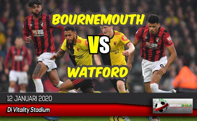 Prediksi Skor Bola Bournemouth vs Watford 12 Januari 2020