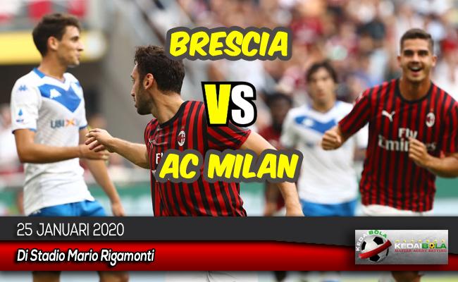 Prediksi Skor Bola Brescia vs AC Milan 25 Januari 2020