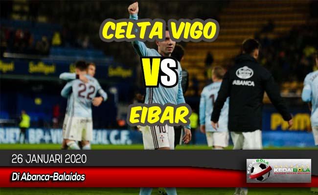 Prediksi Skor Bola Celta Vigo vs Eibar 26 Januari 2020
