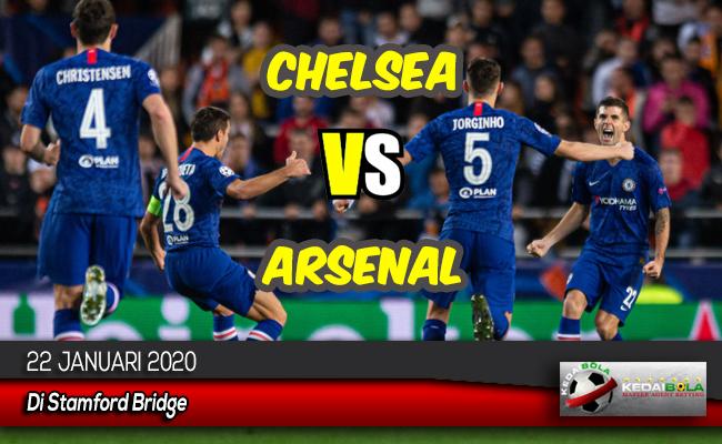 Prediksi Skor Bola Chelsea vs Arsenal 22 Januari 2020