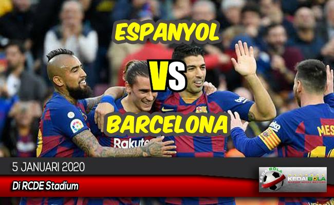 Prediksi Skor Bola Espanyol vs Barcelona 5 Januari 2020