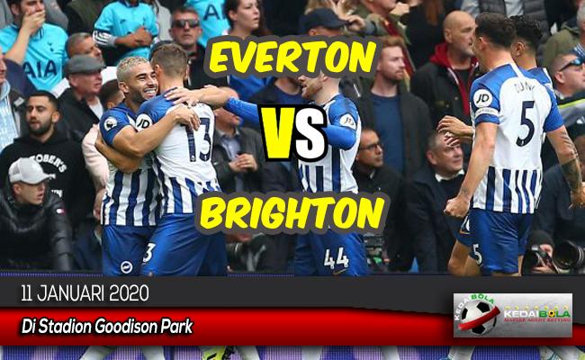 Prediksi Skor Bola Everton vs Brighton 11 Januari 2020