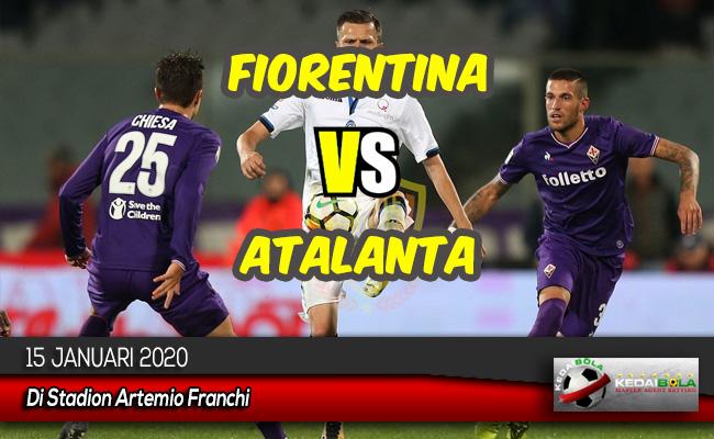 Prediksi Skor Bola Fiorentina vs Atalanta 15 Januari 2020