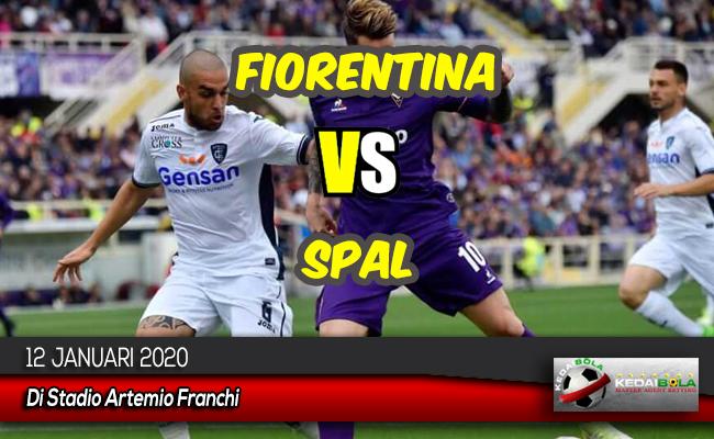 Prediksi Skor Bola Fiorentina vs SPAL 12 Januari 2020