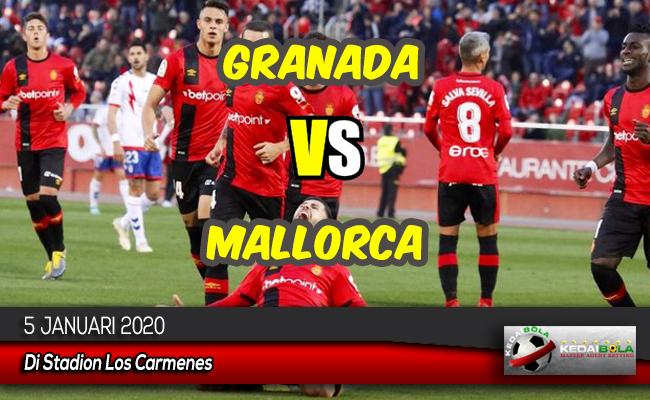 Prediksi Skor Bola Granada vs Mallorca 5 Januari 2020