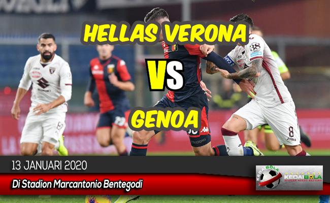 Prediksi Skor Bola Hellas Verona vs Genoa 13 Januari 2020