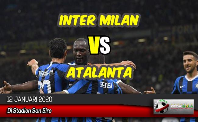 Prediksi Skor Bola Inter Milan vs Atalanta 12 Januari 2020