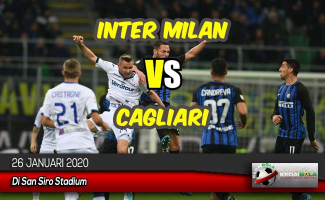 Prediksi Skor Bola Inter Milan vs Cagliari 26 Januari 2020