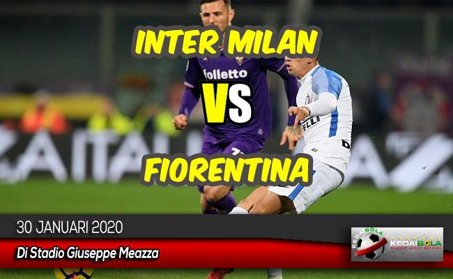Prediksi Skor Bola Inter Milan vs Fiorentina 30 Januari 2020