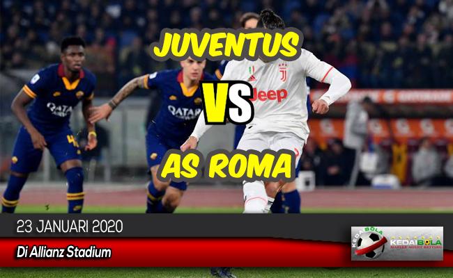 Prediksi Skor Bola Juventus vs AS Roma 23 Januari 2020
