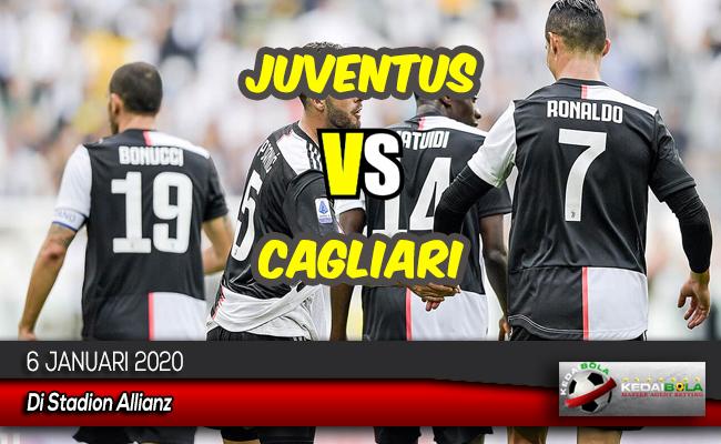 Prediksi Skor Bola Juventus vs Cagliari 6 Januari 2020
