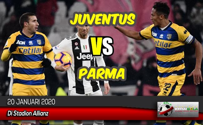 Prediksi Skor Bola Juventus vs Parma 20 Januari 2020