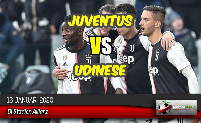 Prediksi Skor Bola Juventus vs Udinese 16 Januari 2020