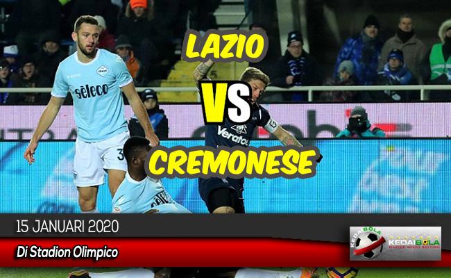 Prediksi Skor Bola Lazio vs Cremonese 15 Januari 2020