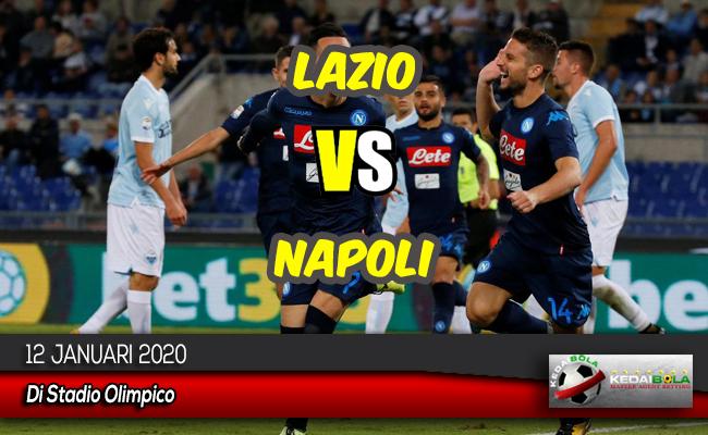 Prediksi Skor Bola Lazio vs Napoli 12 Januari 2020