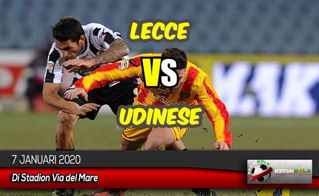 Prediksi Skor Bola Lecce vs Udinese 7 Januari 2020