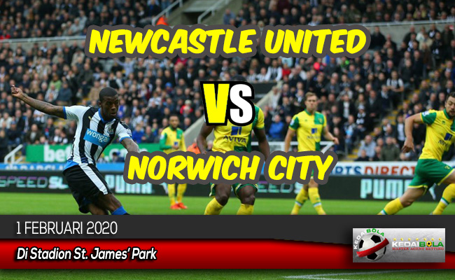 Prediksi Skor Bola Newcastle United vs Norwich City 1 Februari 2020