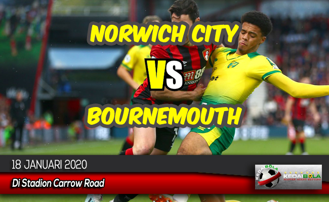 Prediksi Skor Bola Norwich City vs Bournemouth 18 Januari 2020