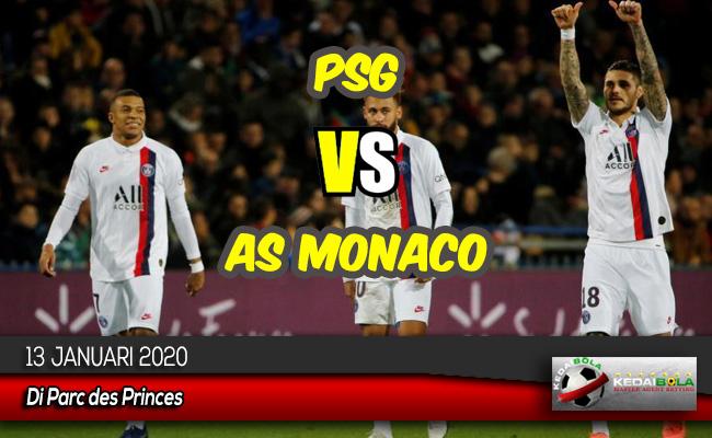 Prediksi Skor Bola PSG vs AS Monaco 13 Januari 2020