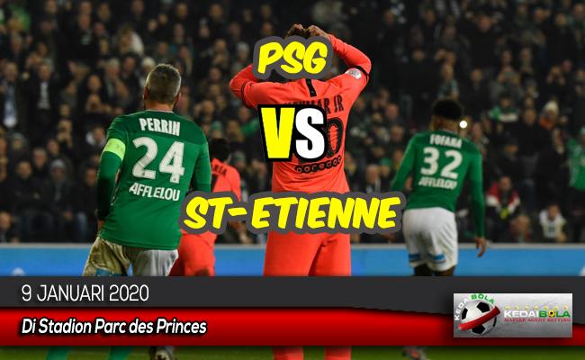 Prediksi Skor Bola PSG vs St-Etienne 9 Januari 2020