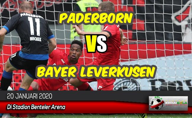 Prediksi Skor Bola Paderborn vs Bayer Leverkusen 20 Januari 2020